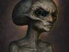 Alien sketch by almanegra