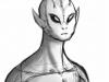 Alien sketch by pariahpuppy