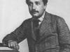 Einstein at office