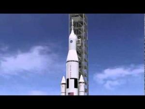 NASA Deep Space Rocket