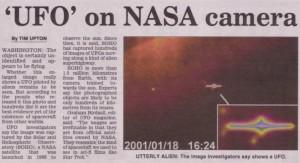 ufo on nasa camera