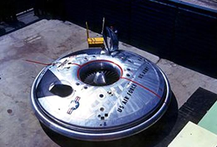 USA UFO - Avrocar 1950