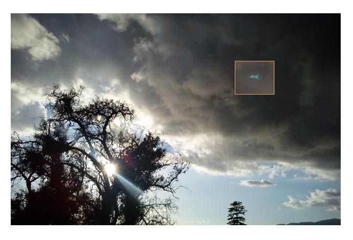 ufo evidence sighting