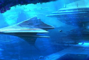 Underwater alien bases
