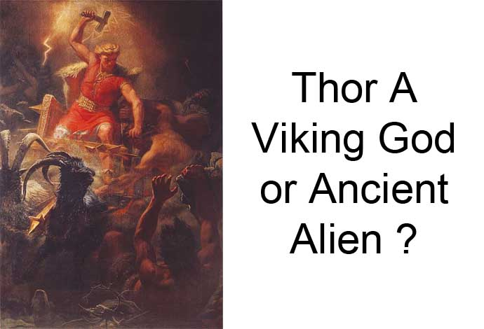 viking god ancient alien
