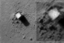 Monoliths on mars